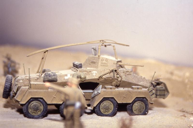 Sd.Kfz 232, Soif dans le désert - Tamiya 1/35 Sdkfz_232_02