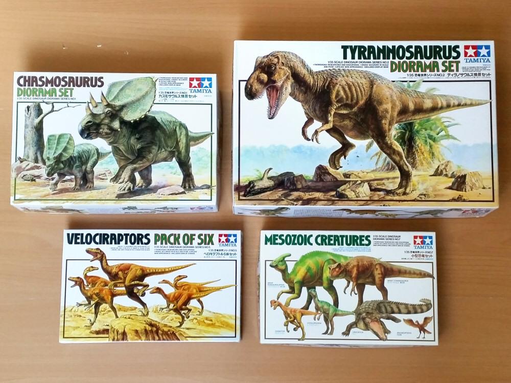 Parasaurolophus Tamiya-Dinosaurs-1993-01